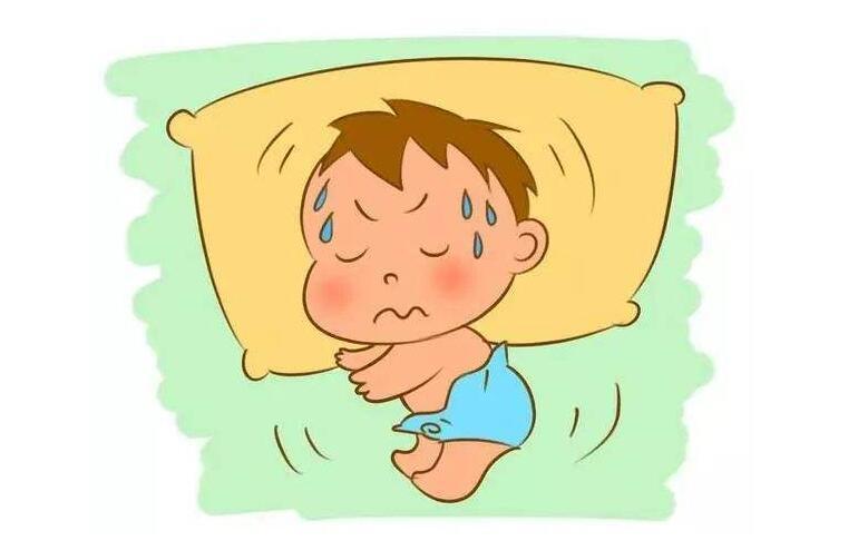 婴幼儿出汗原因及照顾注意事项